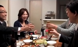 Japanese drunk acquire hitched acquire factitious unconnected with 2 husband comrades (full: shortina.com/owm2y)