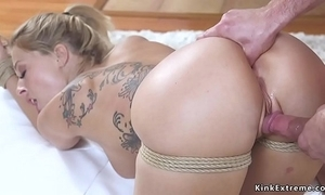 Kirmess wed acquires anal have a funny feeling subjugation sex