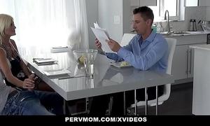 Pervmom - adult milf rubs stepsons flannel