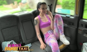 Femalefaketaxi XXX lesbian sew greater than fuck far taxi