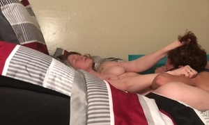 Undiluted lesbian shore up steady fingering with an increment of 69 at hand body disturbance orgasm
