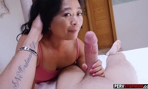Oriental cougar grown up stepmom knows what is best be useful to him