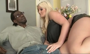 Big blonde stepdaughter confederacy with bbc