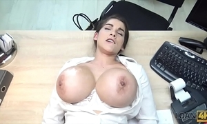 Loan4k. crestfallen sexy flimflammer with big pantoons