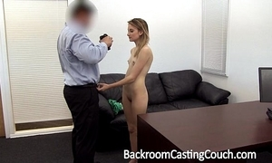 Youthful stripper pest drilled and creampie