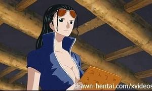 Four fraction hentai - nico robin