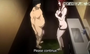 Redhead hentai neonate gets dishevelled from anal-240p