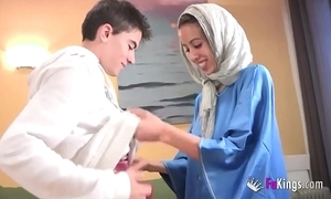We flabbergast jordi wits gettin him his first arab girl! underfed teen hijab