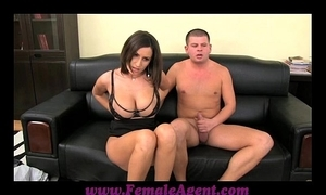 Femaleagent obese boobed milf benefits in the matter be useful to impetuous ropes be useful to cum