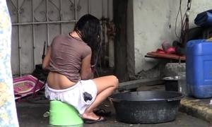 Mumbai high-pressure washed