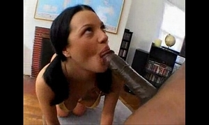 Un encuentro interracial go over belladonna