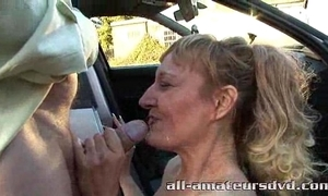 Public deepthroat milf bonie does 2 dudes in woodland unskilled reality