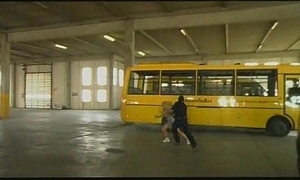 Hammer away school bus chatelaine #1