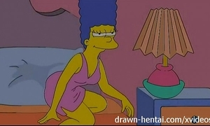 Lesbian anime - lois griffin and marge simpson