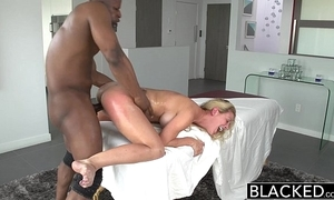 Blacked hot southern blonde cherie deville takes big coloured cock