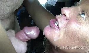 Saturday subfuscous cum slut