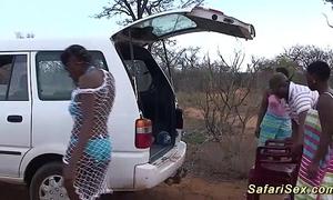 Evil african safari sexual intercourse fuckfest