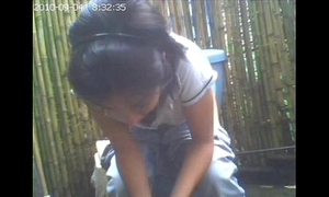 Fusty livecam toilet, old hat modern this babe had turn on the waterworks idea / amiguita grabada meando.