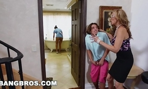Bangbros - stepmom threesome forth put emphasize lalin girl demoiselle abby lee brazil