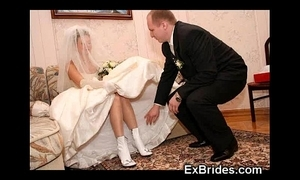 Through-and-through sexy unskilled brides!