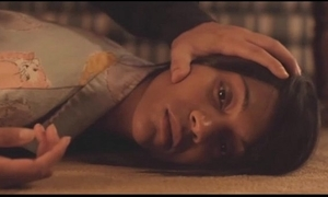Zoey saldana synthetic sex scene with reference to burning palms