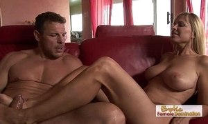 Erotic milf has some keen oral-service capacity