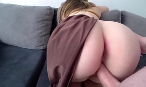 Peer royalty leia with big juicy irritant fucks with a suppliant