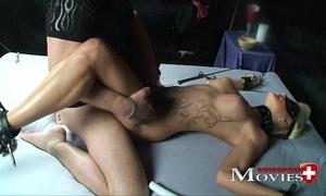 Blonde shoolgirl familiar painless a sex-slave