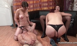 Fffm french babes fast analized together with sinistral drilled wits a serendipitous guy