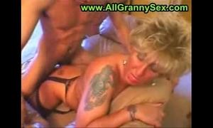 German tattooed granny