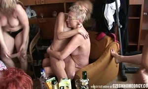Hardcore of age home orgy
