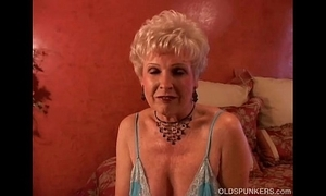 Gemstone is a succulent old spunker who loves get under one's partiality for cum