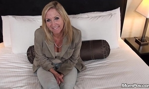 Old granny fucks youthful weasel words pov