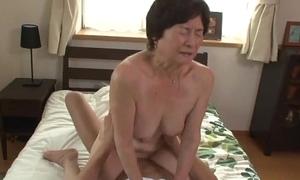 Seventy five lifetime elderly granny
