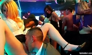 Crestfallen babes fucking at a one of a pair sex federate