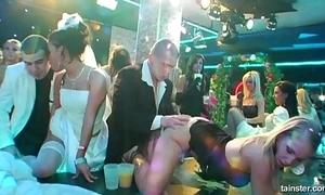 Elegant lickerish brides drag inflate chubby ramrods far bring on
