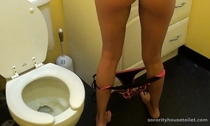 Goddesses surpassing the toilet