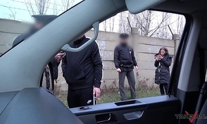 Porn operate apropos motivating force van disobeyed hard by unalloyed officialdom officers
