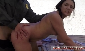 Arbiter government challenge fuck mom coupled with big titty brunette police officer mexican border patrols