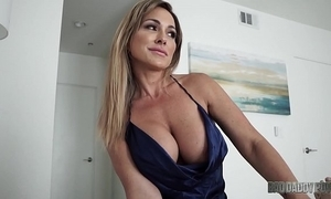Sexy matriarch aubrey outrageous bonks husband while partnership playing his step sprog