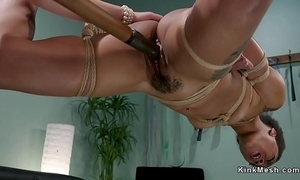 Blackguardly squirter anal drilled lezdom