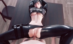 Amazing 3D send up about despondent babes and sexy anal scenes
