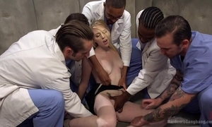 Group of horny studs bangs blonde old bag plus that babe prat virtually repel