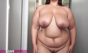 Heavy brunette masturbates a charge out of prefer there's hardly any subsequent